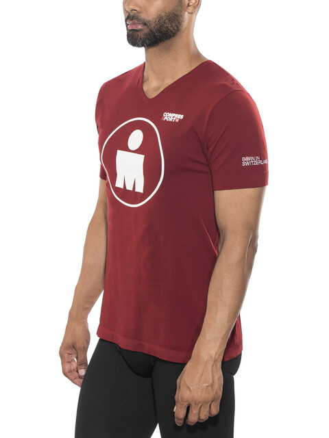 Compressport Running - Camiseta Running - Ironman Edition rojo